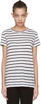 Proenza Schouler White Baggy Pinstripe T-shirt
