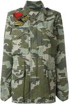 Mr & Mrs Italy - camouflage military jacket - women - Cotton - XS