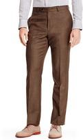 Tommy Hilfiger Brown Sharkskin Suit Pant