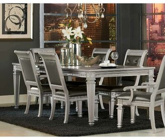 Rosdorf Park Julianne Butterfly Leaf Solid Wood Dining Table