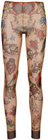 DSQUARED2 tattoo print leggings