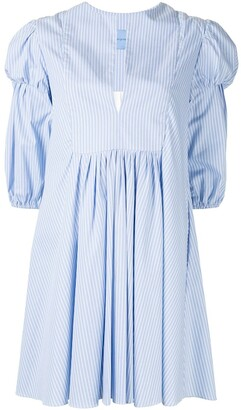macgraw Village striped dress