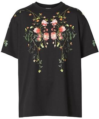 Burberry Floral Design T-Shirt
