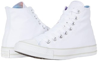 Converse Chuck Taylor All Star Gradient Patch - Hi (White/Multi/Pale Putty) Women's Shoes