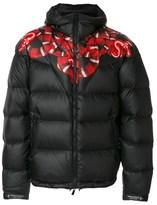Marcelo Burlon County of Milan Men's Black Polyester Down Jacket.