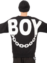 Boy London Boy Chain Printed Sweatshirt