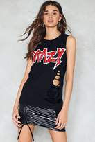 Nasty Gal nastygal Let's Go Crazy Distressed Tank