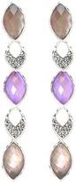 Judith Jack 60284259 Purple Moon Linear Earring