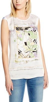 Bonita Women's 1205241 Regular Fit Sleeveless Blouse