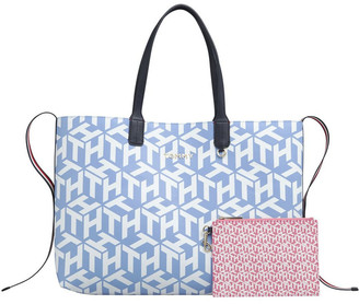 Tommy Hilfiger AW0AW08624_C32 Iconic Double Handle Tote Bag