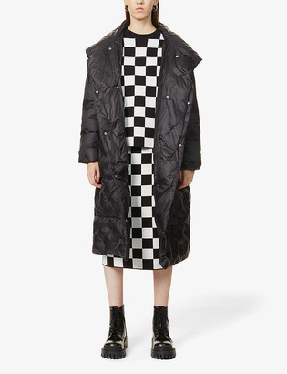 Stand Nicolina quilted shell-down coat