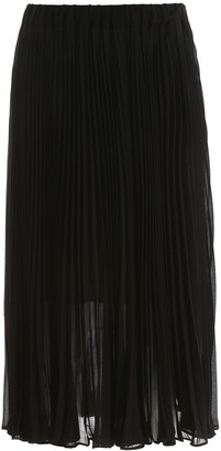 MICHAEL Michael Kors Pleated Midi Dress