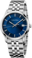 Calvin Klein Infinite Quartz, Stainless Steel Bracelet With Blue Dial