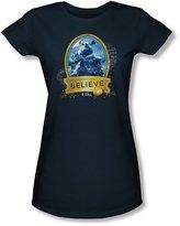 Polar Express - Juniors True Believer Sheer T-Shirt