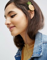 Asos Limited Edition Glitter Pineapple Hair Clip