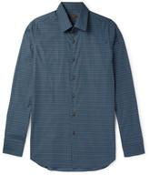 Prada Slim-Fit Printed Cotton Shirt