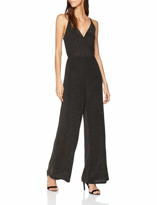Glamorous Women's METALLIC JUMPSUIT Relaxed Jumpsuit
