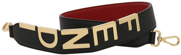 04853dce Shoulder Strap Maxi Strap You Shoulder Bag In Genuine Leather Century With  Metallic Logo