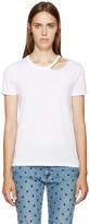 Stella McCartney White Chain T-Shirt
