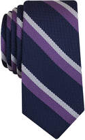 Bar III Men's Denton Stripe Slim Tie, Only at Macy's