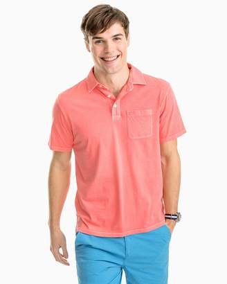 Southern Tide Island Road Cotton Jersey Polo Shirt