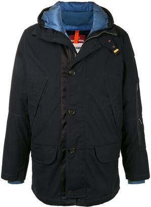 Parajumpers Button-Up Hooded Jacket