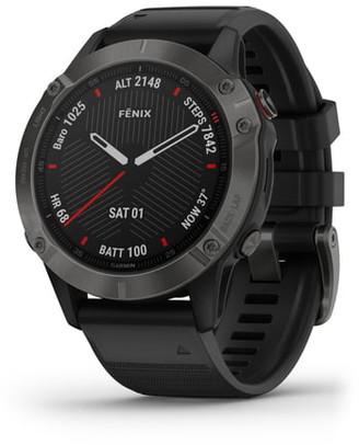 Garmin fenix® 6 Sapphire Premium Multisport GPS Watch, 47mm