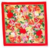 Christian Dior Floral Print Scarf