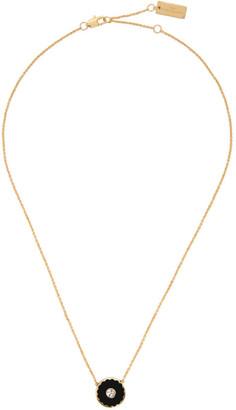 Marc Jacobs Black The Medallion Necklace