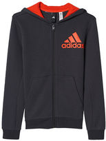 Adidas Essentials Logo Full Zip Hoodie