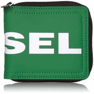 Diesel Men's Zippy HIRESH S Bifold Wallet with Zipper