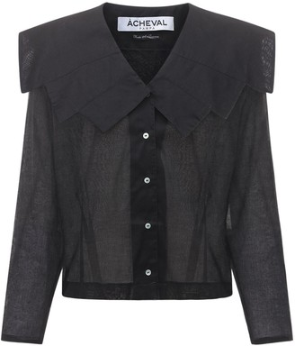 ÀCHEVAL PAMPA Evita Cotton Voile Shirt