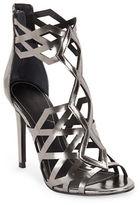 KENDALL + KYLIE Elena Metallic Caged Sandals