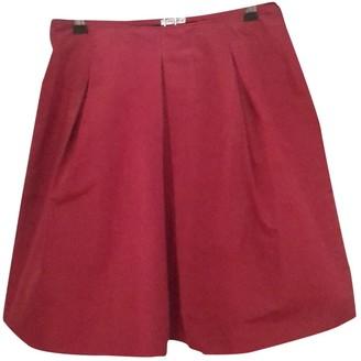 Miu Miu Red Skirt for Women