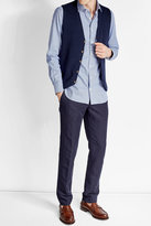 Baldessarini Cotton Vest with Cashmere