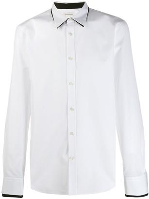 Alexander McQueen Contrast Trim Shirt