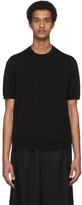 Comme des Garcons Black Wool Jersey T-Shirt