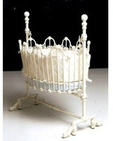 The Well Appointed House Classic Wrought Iron Baby Cradle
