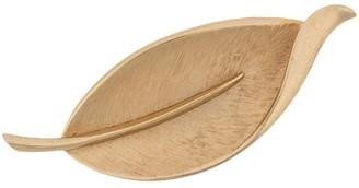 Susan Caplan Vintage Trifari leaf brooch