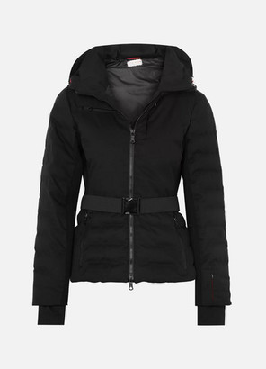 Erin Snow Kat Quilted Ski Jacket - Black