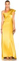 Cushnie et Ochs Double Charmeuse Dress