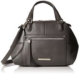 Nine West City Chic Leather Jaylin Satchel Shoulder Bag