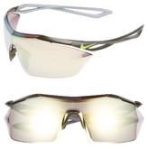 Nike Women's Vaporwing Elite 90Mm Running Sunglasses - Cargo Khaki/ Volt