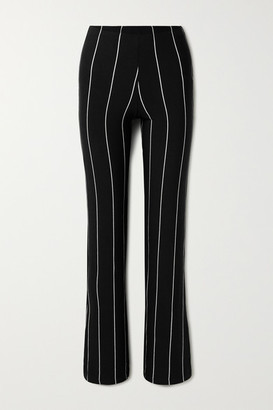 Leset Kelly Stretch-jersey Straight-leg Pant - Black
