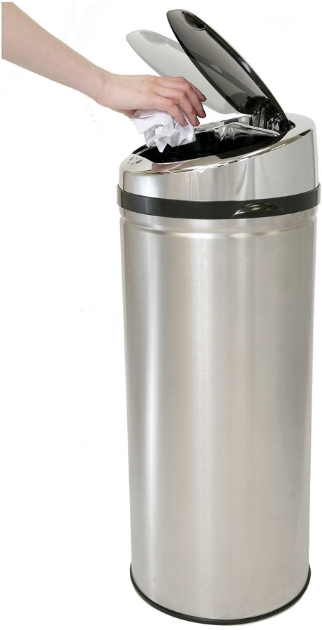 iTouchless 8-Gal. Automatic Trash Can