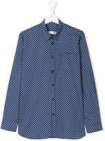 MonnaLisa geometric patterned shirt