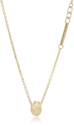Bjorg Small Gold Anatomic Heart Necklace