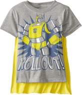 Transformers Little Boys' Toddler Bumblebee Roll Out Cape T-Shirt