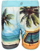 Name It Printed Swim Shorts with Brief