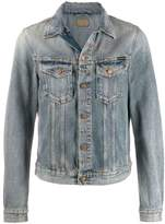 Nudie Jeans Co distressed denim jacket